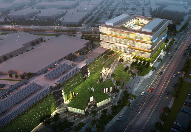 Samsung's New R&D Office Will Be a San Jose Beacon