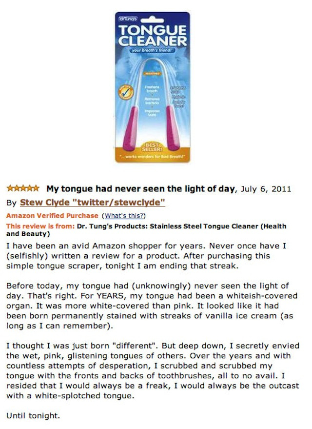 Reading Hilarious Amazon Reviews Never Ever Gets Old