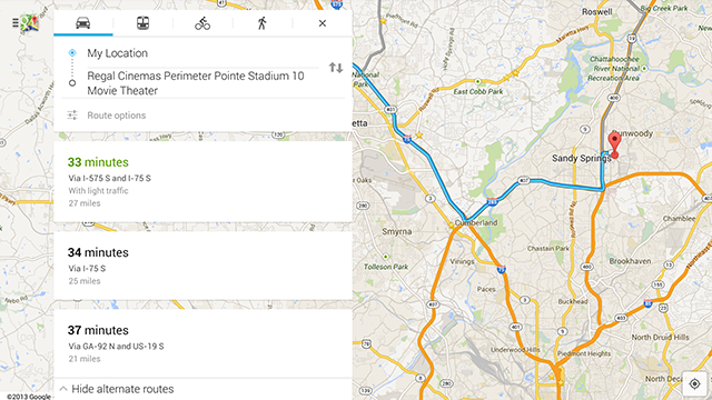 Google Maps 7.0 Update Refreshes the UI, Adds Traffic Reports and More