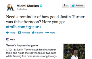 Justin Turner plays for the Mets.
