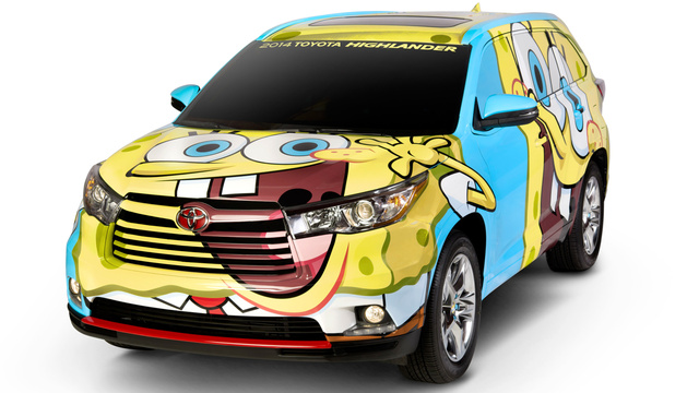 Let's Discuss The Nightmare That Is The SpongeBob Toyota Highlander