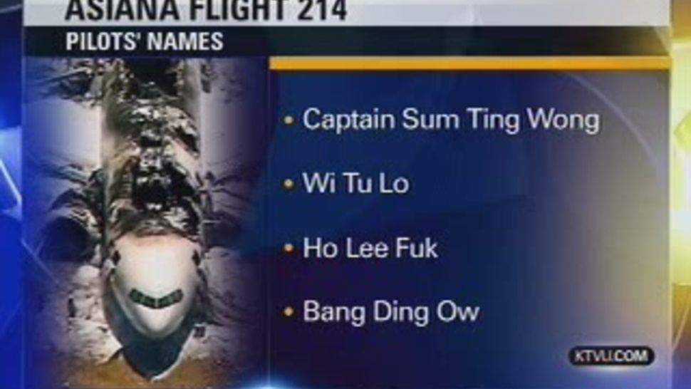 How Those Fake Pilot Names Made It On TV
