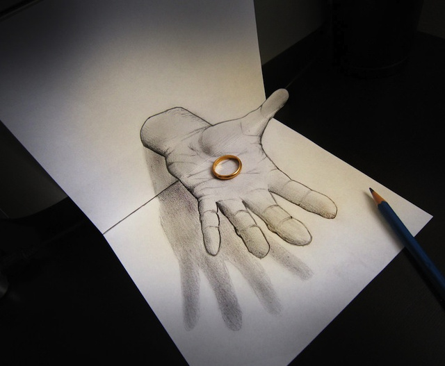Wow These Unbelievable 3D Drawings Are Actually Drawn in 2D