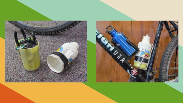 Build a Bike-Sized Toolkit out of Water Bottles