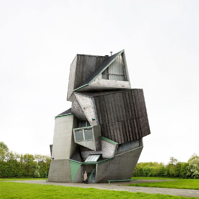 These Examples of Surrealist Architecture Will Make You Feel Dizzy