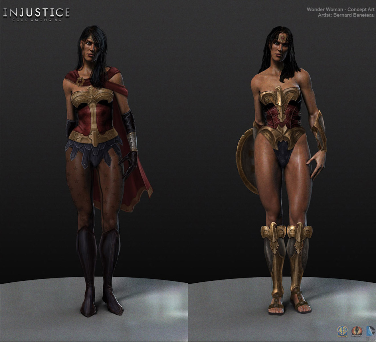 Concept Art Injustice Injustice Superman Concept Art