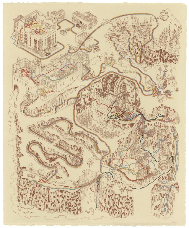 Can You Identify These Movies Drawn Out as Treasure Maps?