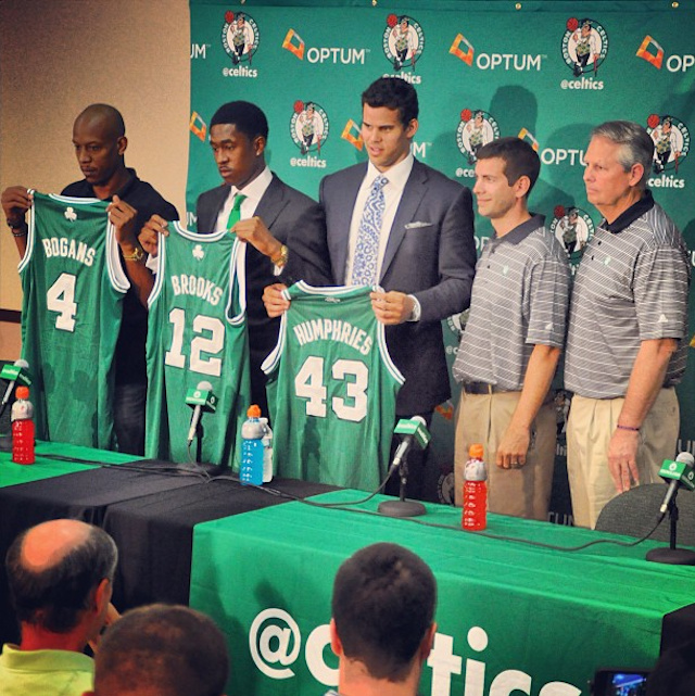 The Newest Celtics Look So Very Sad