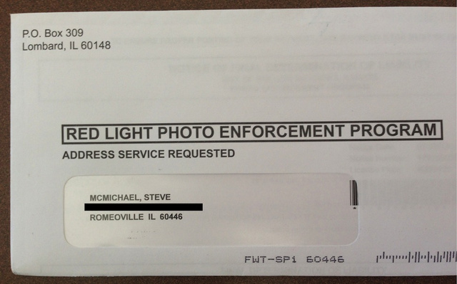 "Steve ""Mongo"" McMichael Ran A Red Light, Has Sub-Par Letter Carrier"
