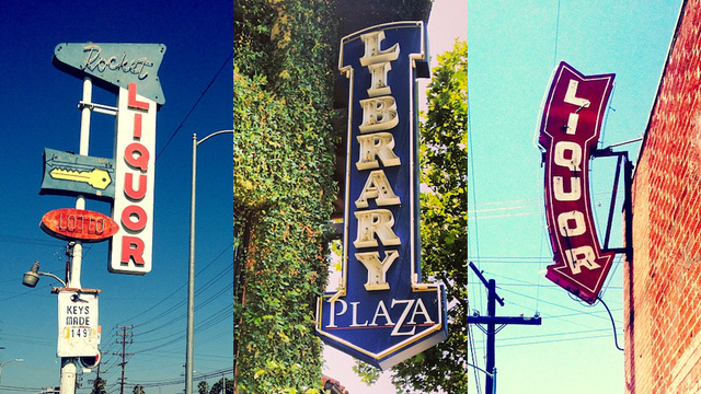 12 Drool-Worthy Photos of Vintage Signs in the Valley
