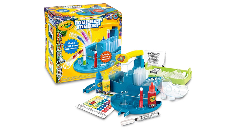 Design The Perfect Shade With Crayola's Make Your Own Marker Kit