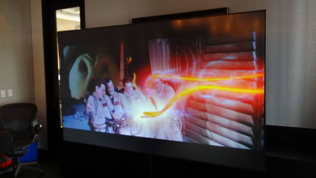 LG Laser TV Hands On: Your Wall's Not Worthy
