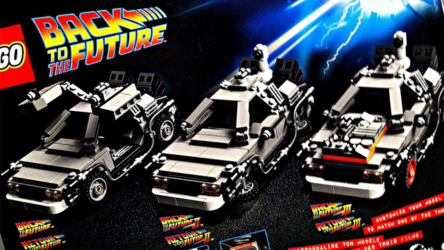 Here's the New Lego Back to the Future Set