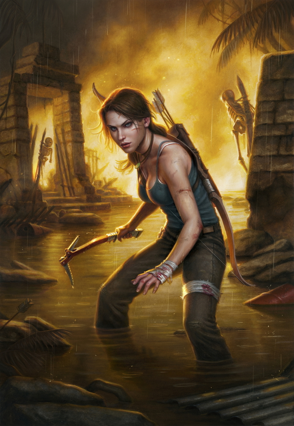 A New Tomb Raider Comic Shows What's Next For Lara Croft ...