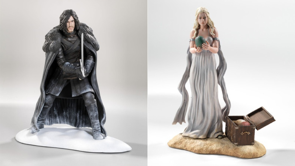 Game Of Thrones Toys : Official game of thrones figures top the best comic con toys