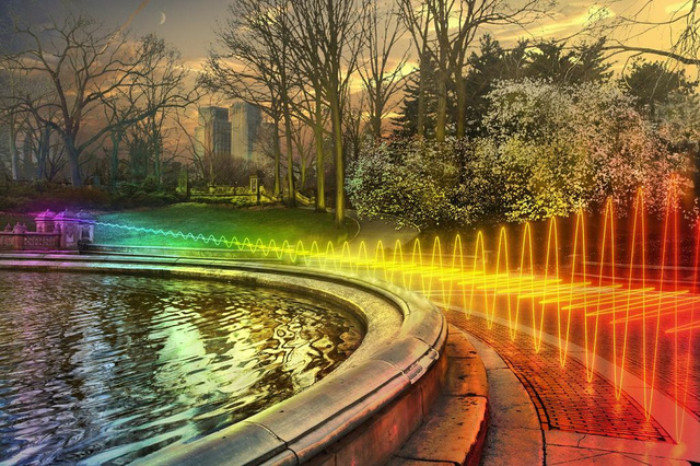 What the World Would Look Like If You Could Actually See Wi-Fi Signals