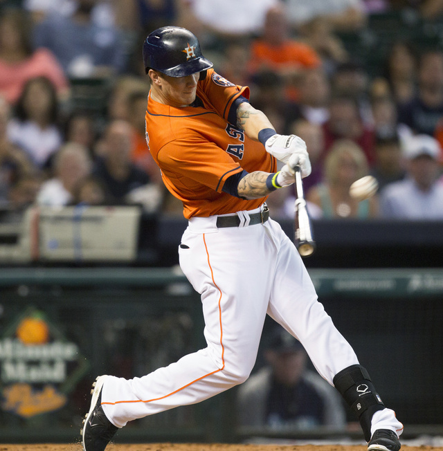 Astros' Season Peaks With Brandon Barnes' Gift Cycle