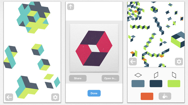 Make Tricky And Beautiful Geometric Patterns In Isometric
