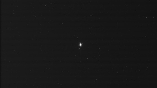 Behold the Earth and Moon – as seen from Saturn