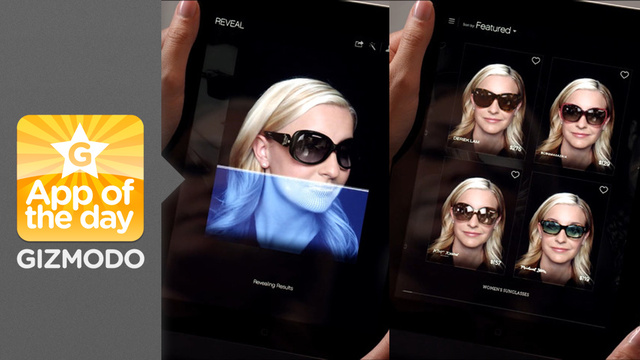 Glasses.com for iPad: Test Glasses on Your Virtual Head Before You Buy