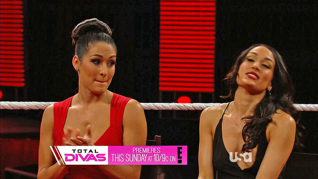 Bella Twins Wardrobe Malfunction Raw