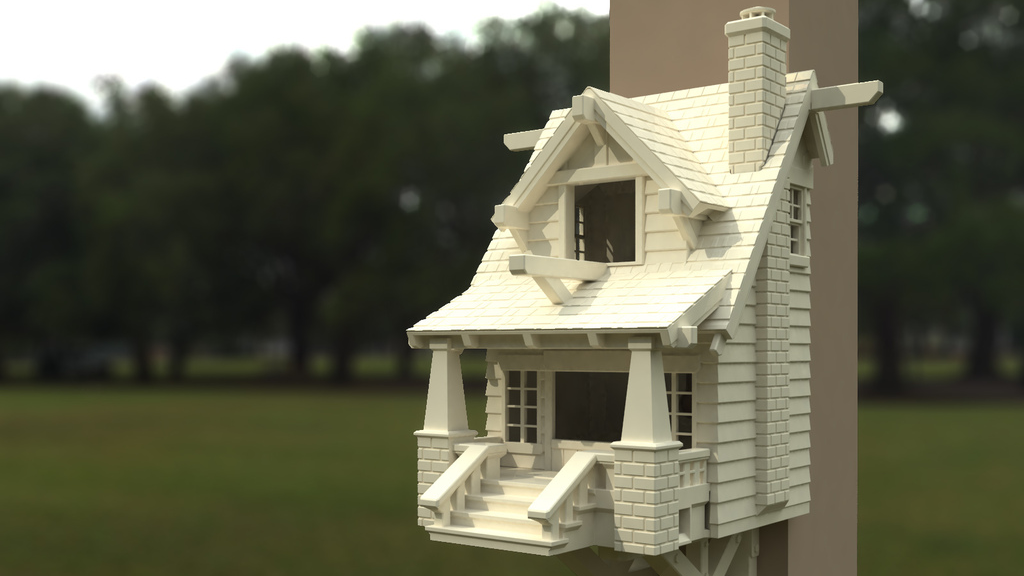 This 3D-Printed Bungalow Is The Ultimate Birdhouse