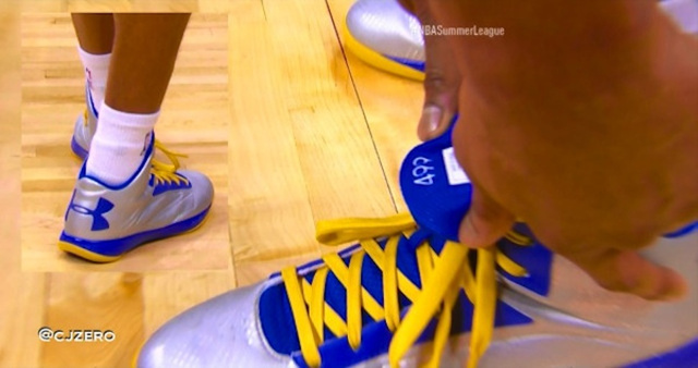 """NBA's 499th Best Player Has """"499"""" Stitched Into His Shoes"""
