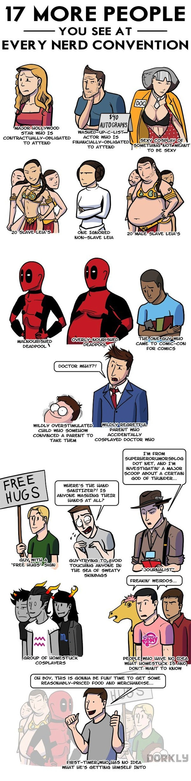 The 17 Types of People You See at Any Nerd Convention