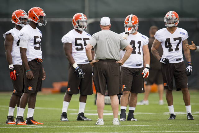 Browns Guard Ryan Miller Carted Off Field, Taken To Hospital