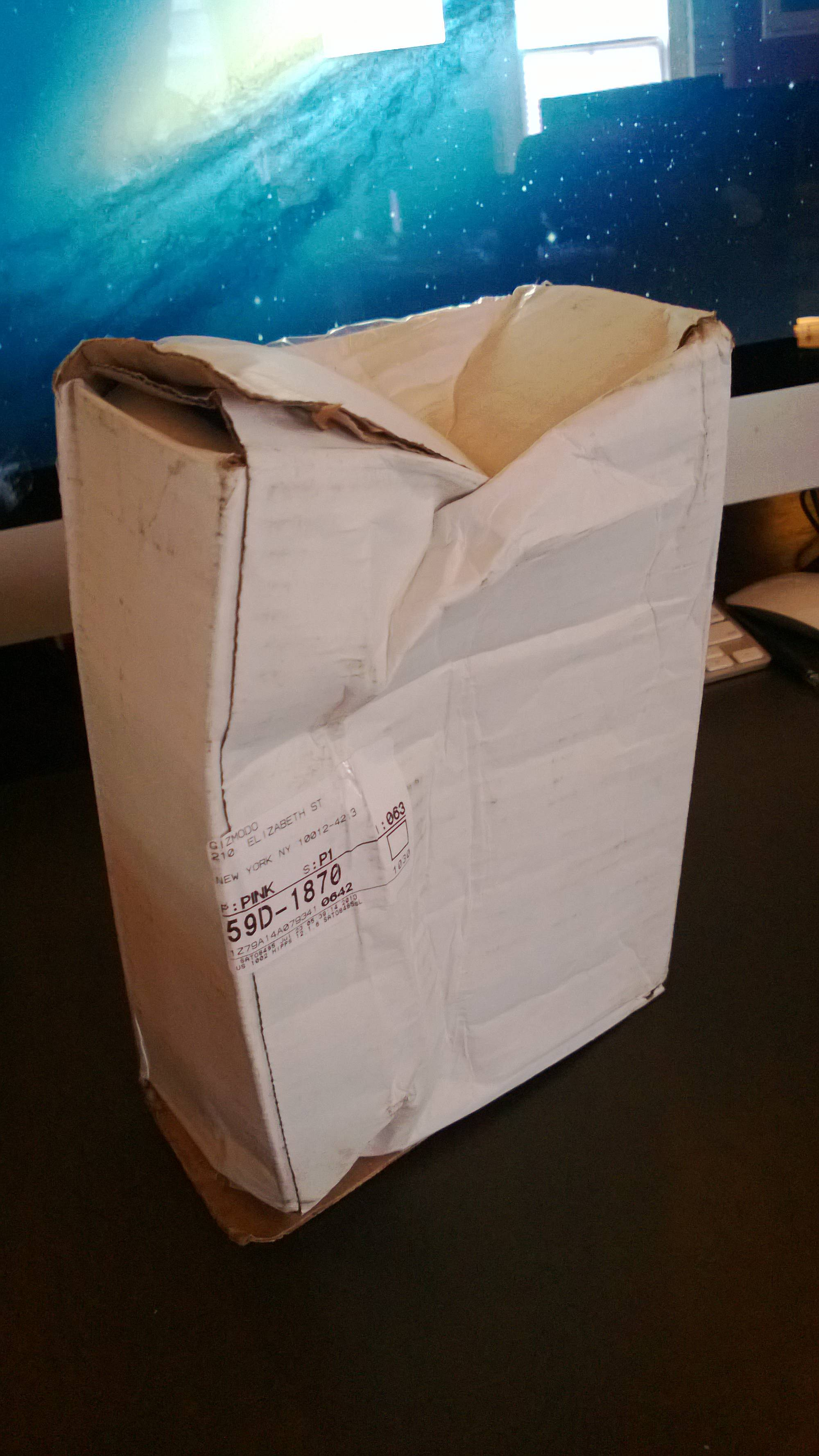 Dear UPS, This Is Not How You Ship A Gadget