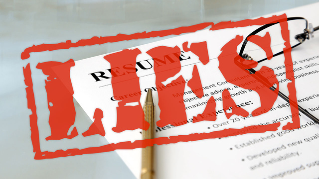 when should you lie on your resume