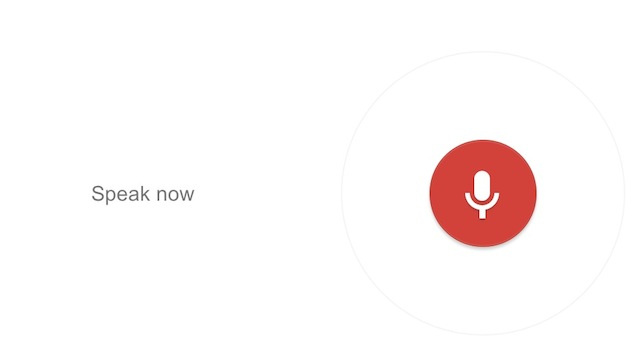 Launch Google Voice Search with a Keyboard Shortcut