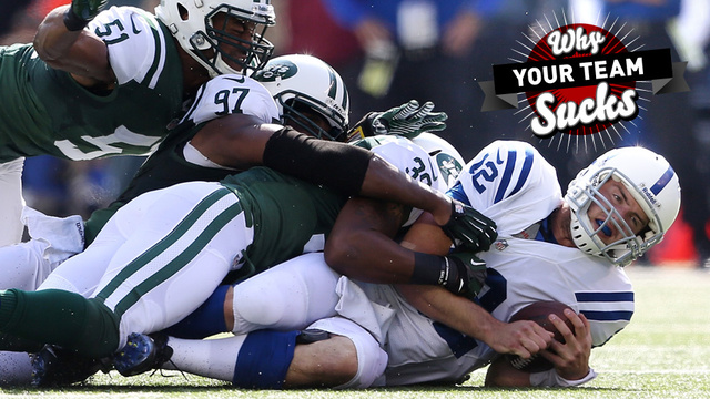 Why Your Team Sucks 2013: Indianapolis Colts