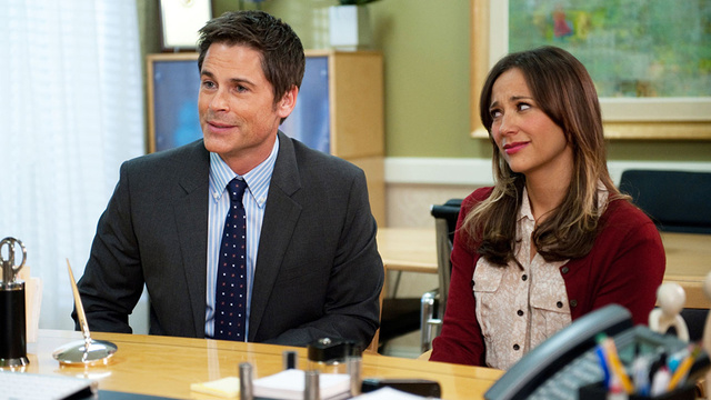 The Beginning of the End? Rob Lowe, Rashida Jones Ditch Parks and Rec