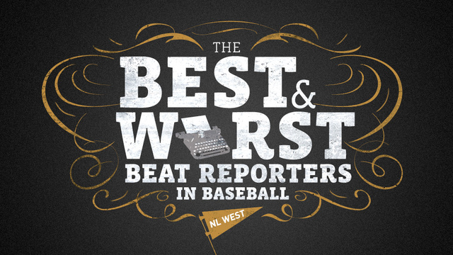 The Best And Worst Beat Reporters In Baseball: NL West