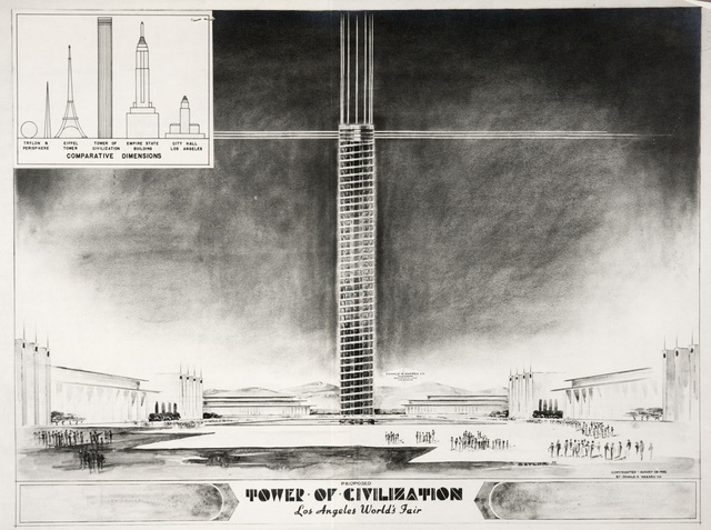 Behold the city of Los Angeles as it could have been