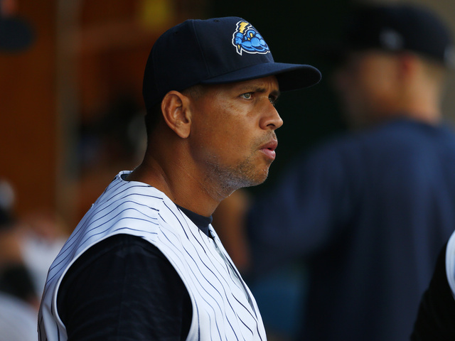 A-Rod making strides with swing, running