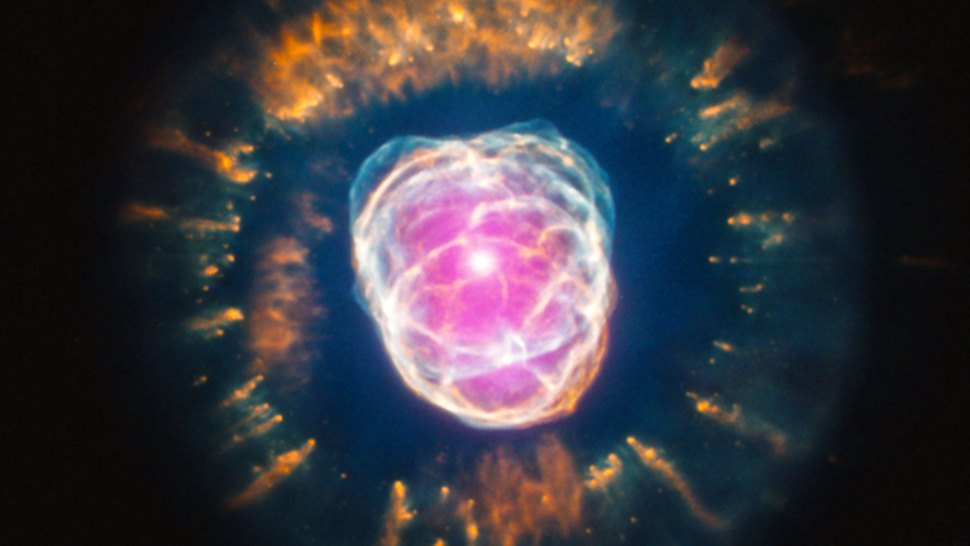 Behold the terrifyingly named Clownface Nebula