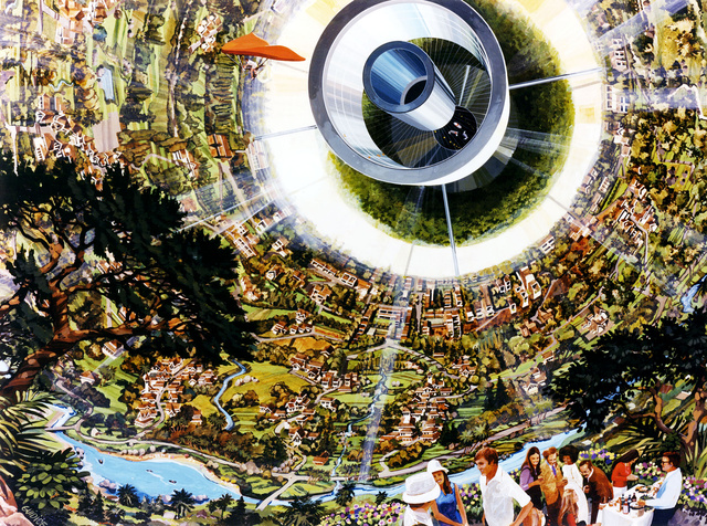 Psychedelic Space Station Concepts from the 70s Will Blow Your Mind