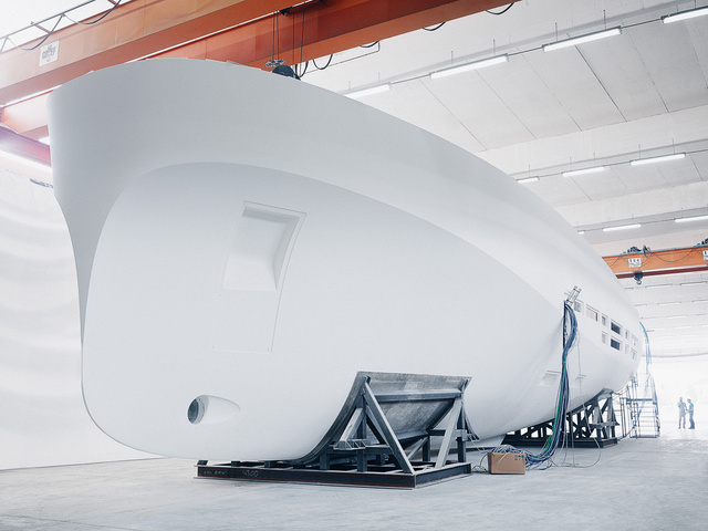 Inside the Celestial Workshop That Makes the World's Fastest Yachts