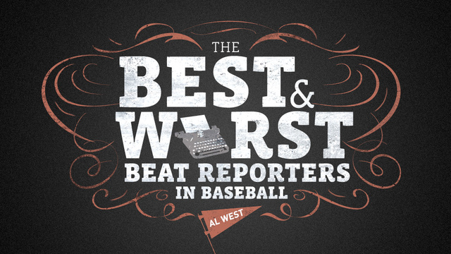 The Best And Worst Beat Reporters In Baseball: AL West