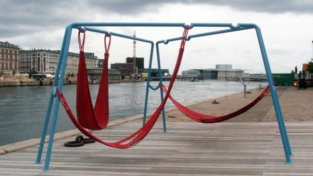 Firehose Swings Turn the World Into a Playground