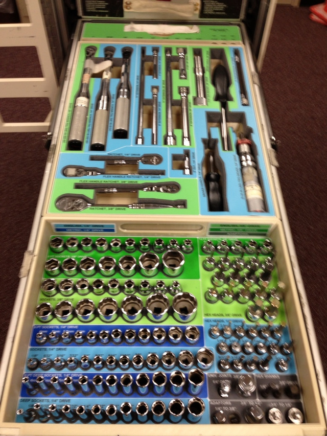 Inside the International Space Station's Tool Kit