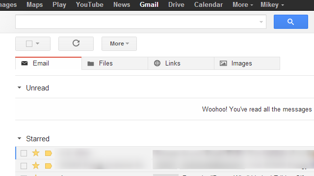 Have Chrome Sort Gmail Emails, Files, Links & Images In Separate Tabs
