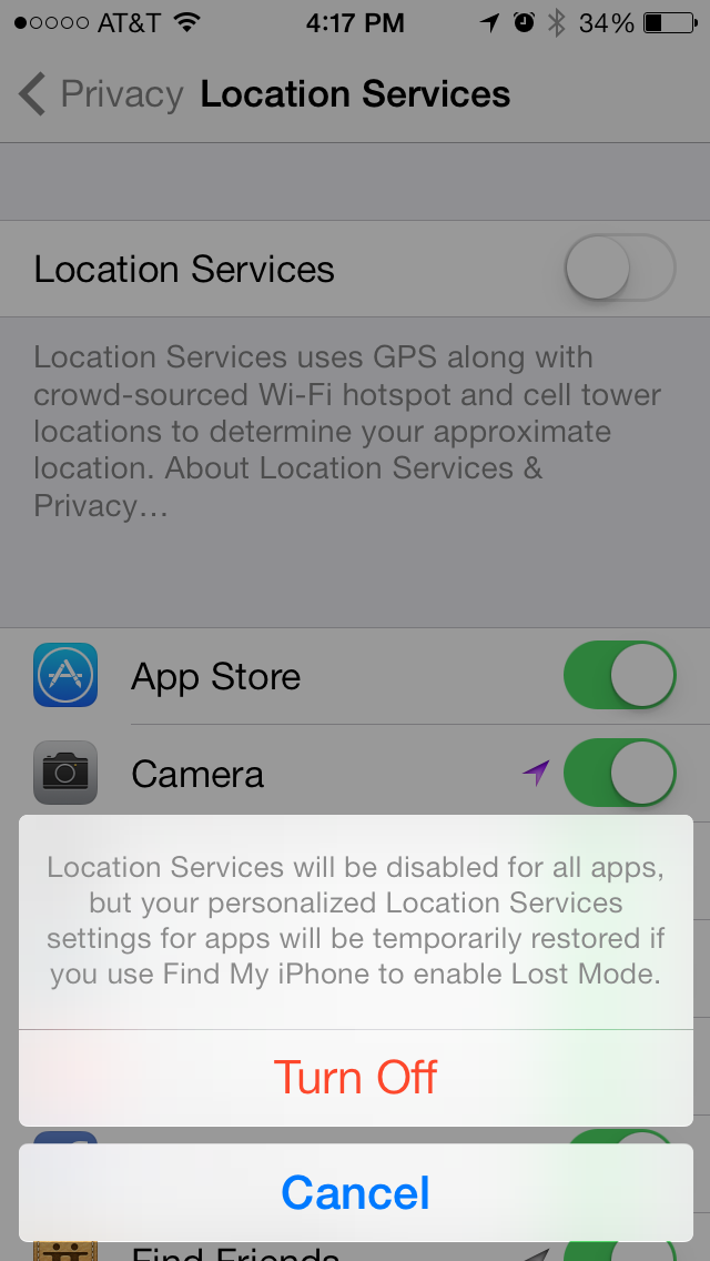 iOS 7 Tracks Your Every Move and Displays Your Favorite Places
