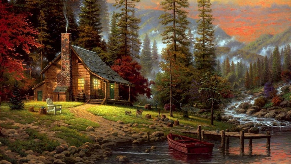 How Thomas Kinkade Helped Prove That Art Can Be Scientifically Bad