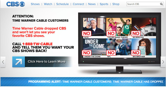 Time Warner Cable and CBS Make Up Just in Time for NFL Season