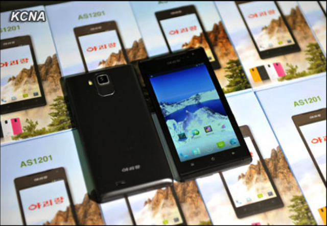 "North Korea Says It's Manufacturing Smartphones with ""High Pixels"""