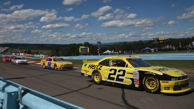 pc game helped nascar driver dominate its famous road course
