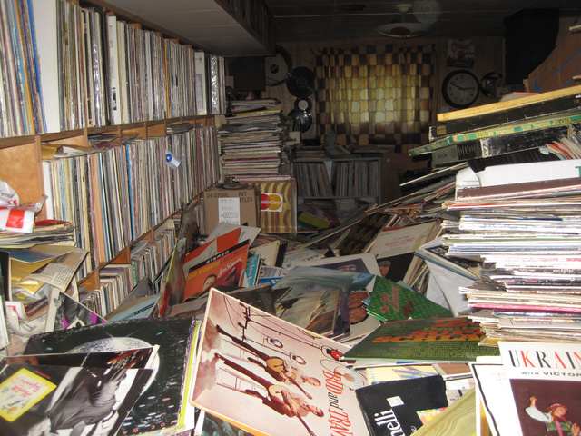 Behold the Horrible Glory of a Hoarder's 250,000-Record Vinyl Library